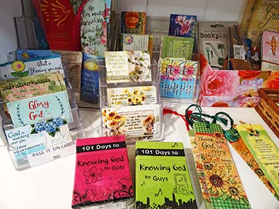 Encouragement Cards and Bookmarks